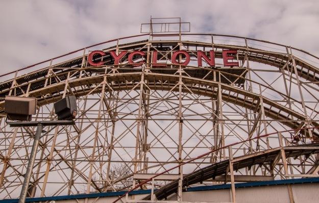 Cyclone Rollar Coaster