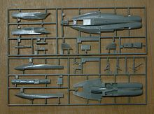 """All the parts are molded together using what is called a """"Cold Runner."""""""
